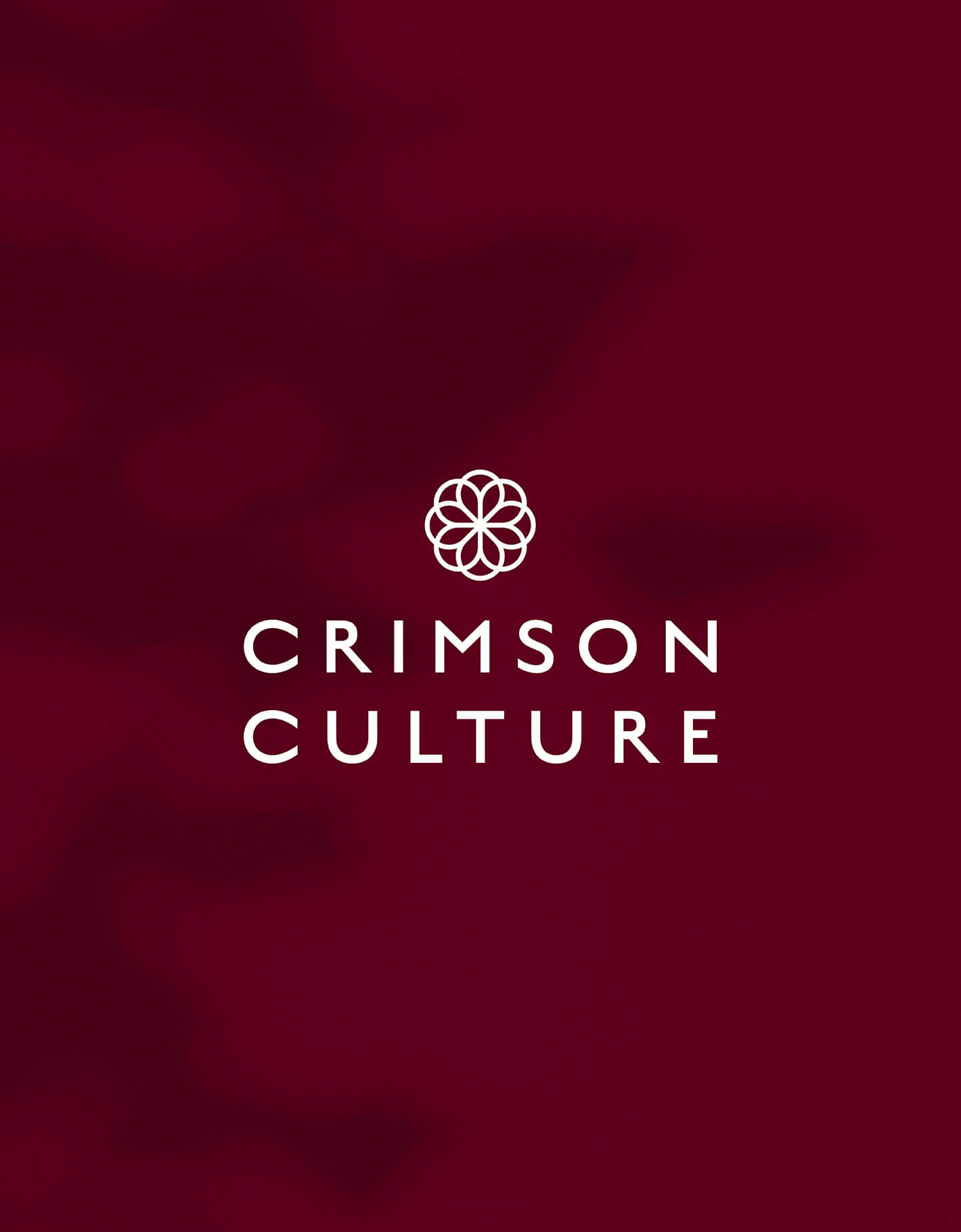 Logotype and icon for Crimson Culture candles