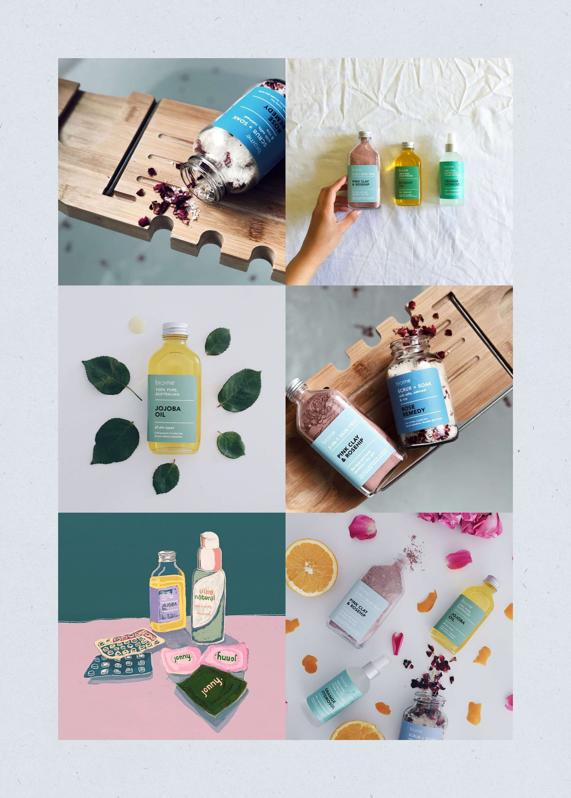 social media overview of user generated skincare content
