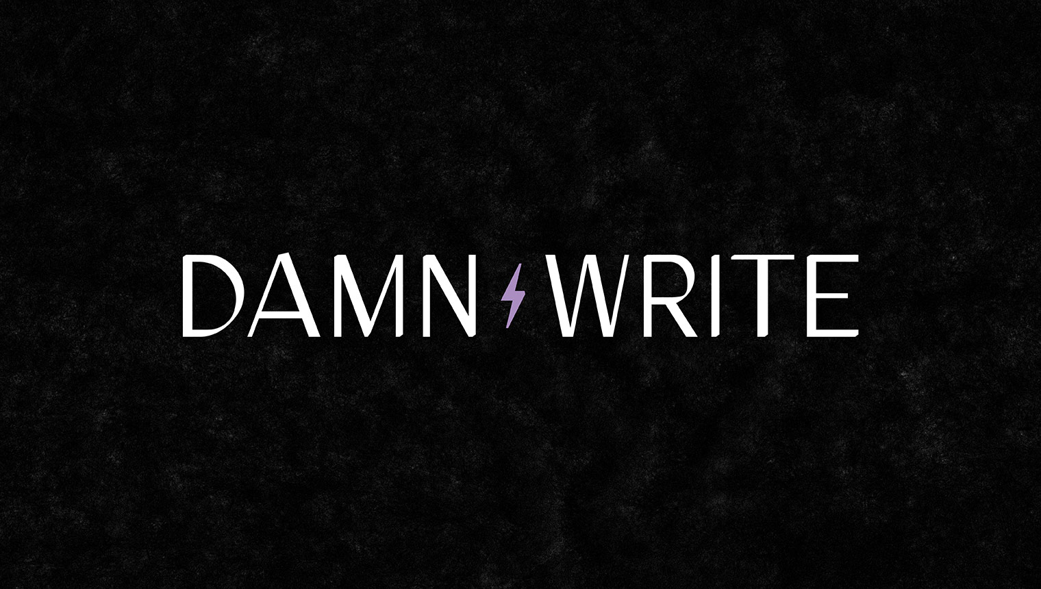 Minimal serif logotype and icon for e-commerce copywriter damn write by Obscurio and co